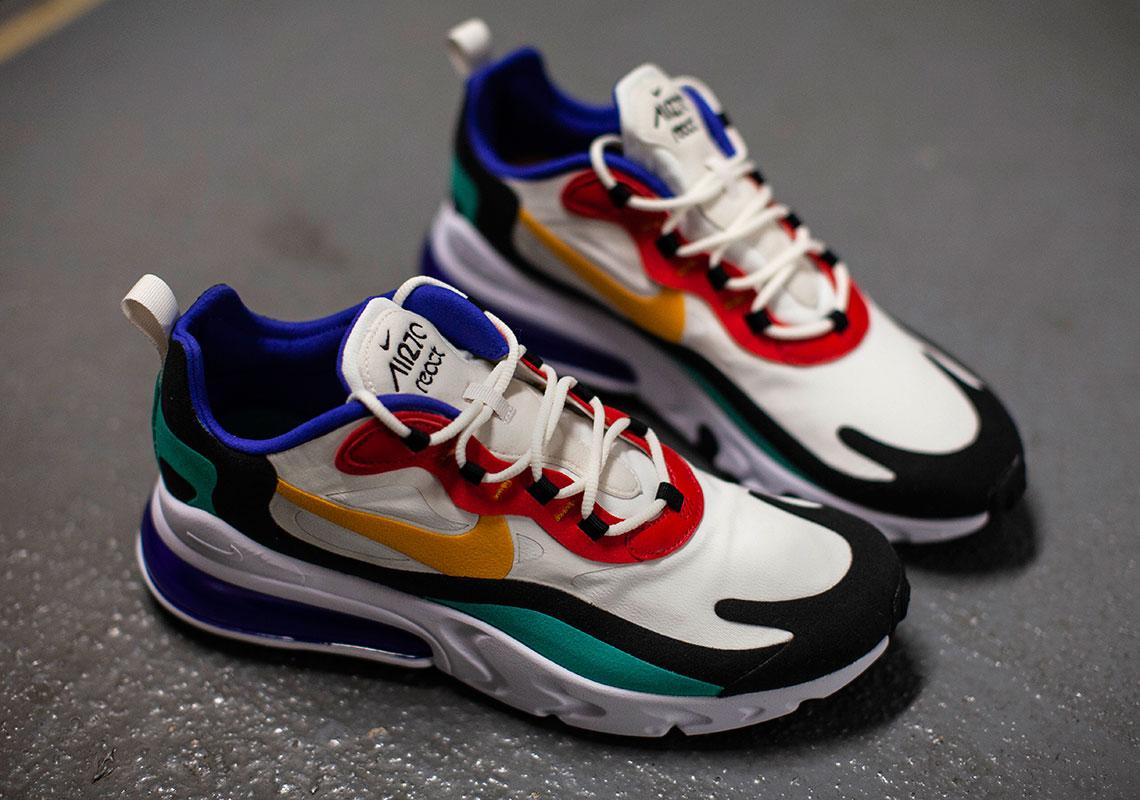 "Set To Drop: Nike Air Max 270 React ""Bauhaus"" | The Lifestyle"