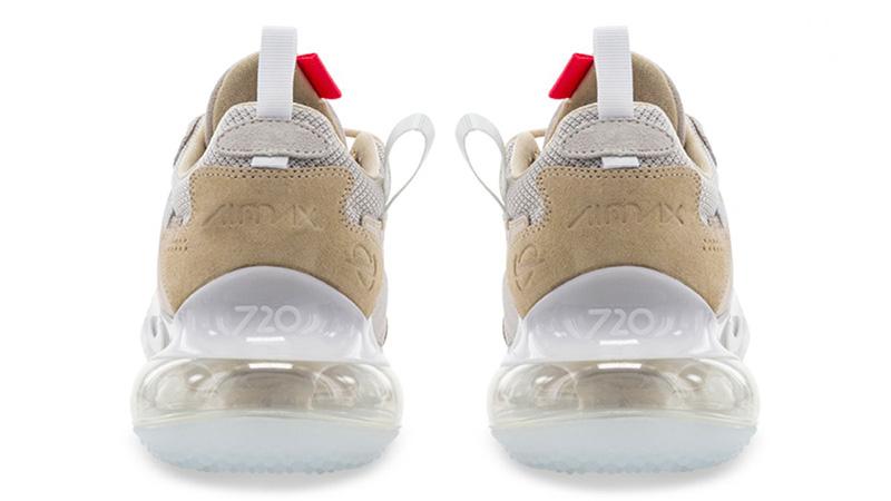 Nike Air Max 720 OBJ Desert Ore back