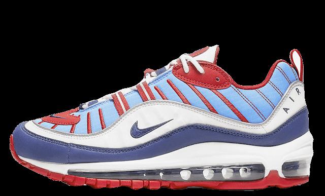 Nike Air Max 98 Blue Red