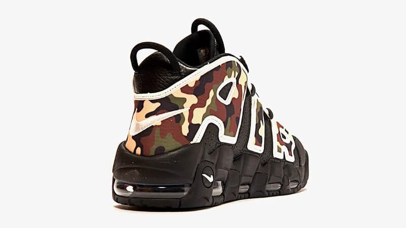 Nike Air More Uptempo Black Camo