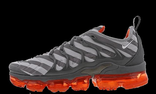 Nike Air VaporMax Plus Wolf Grey Crimson 924453-020