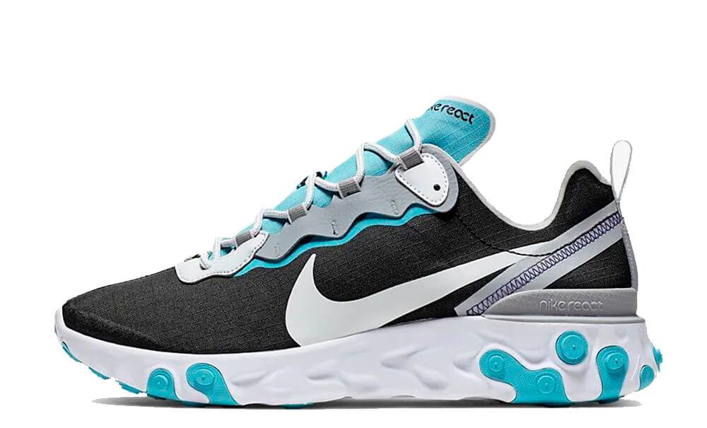 Nike React Element 55 SE Black Teal BV1507-001