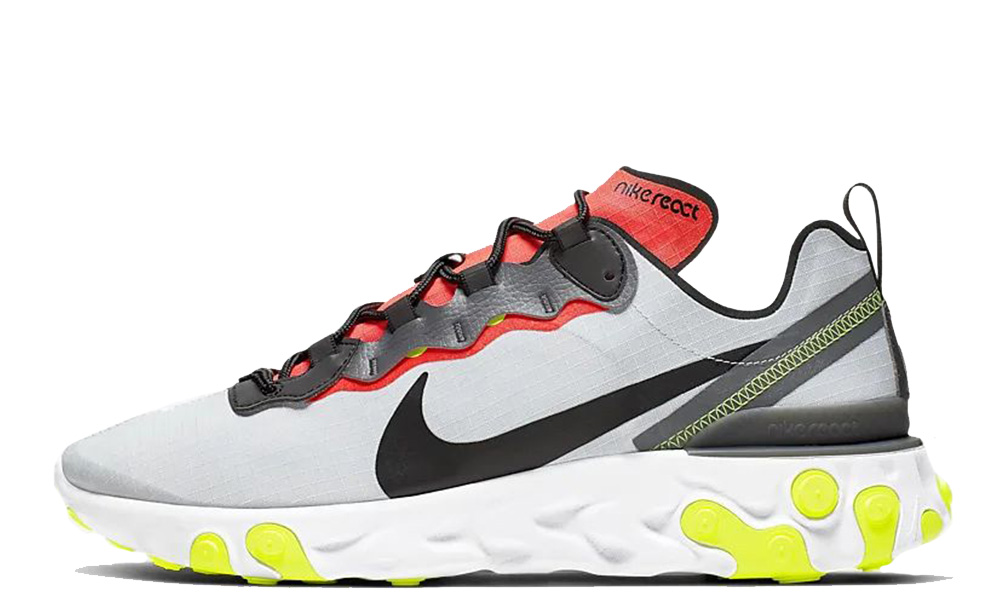 Nike React Element 55 SE Grey Multi - Where To Buy - BV1507 ...
