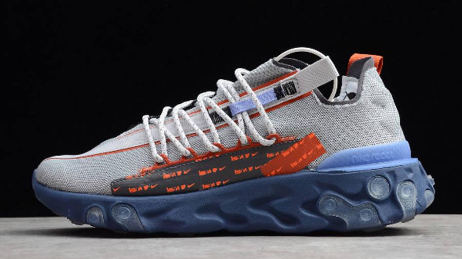 Nike React WR ISPA Grey Sapphire Lifestyle