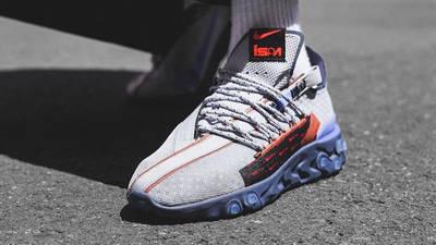 Nike React WR ISPA Grey Sapphire On Foot