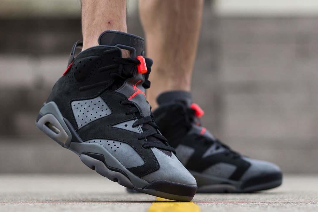 Foot Look At The PSG x Air Jordan 6