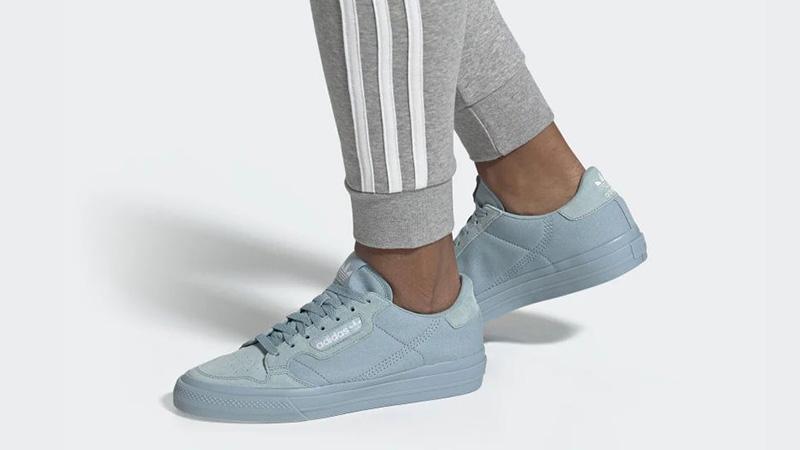adidas Continental Vulc Ash Grey