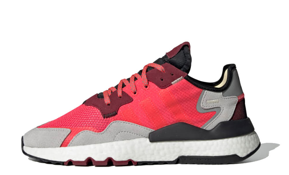 adidas Nite Jogger Red Grey EE5883