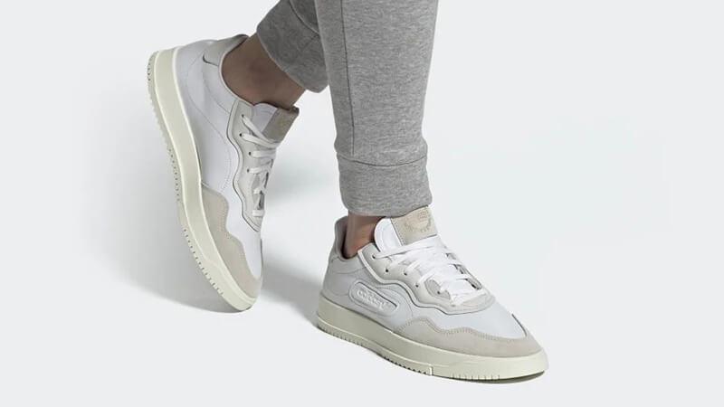 adidas iniki white on feet