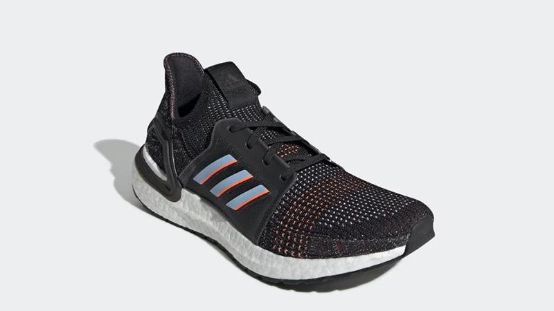 adidas Ultra Boost 19 Black Multi G54011 front