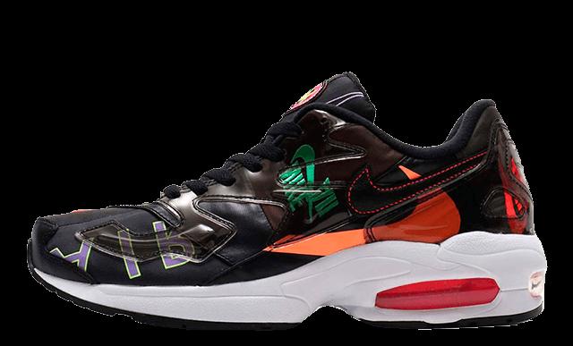 atmos x Nike Air Max 2 Light Black Capsule