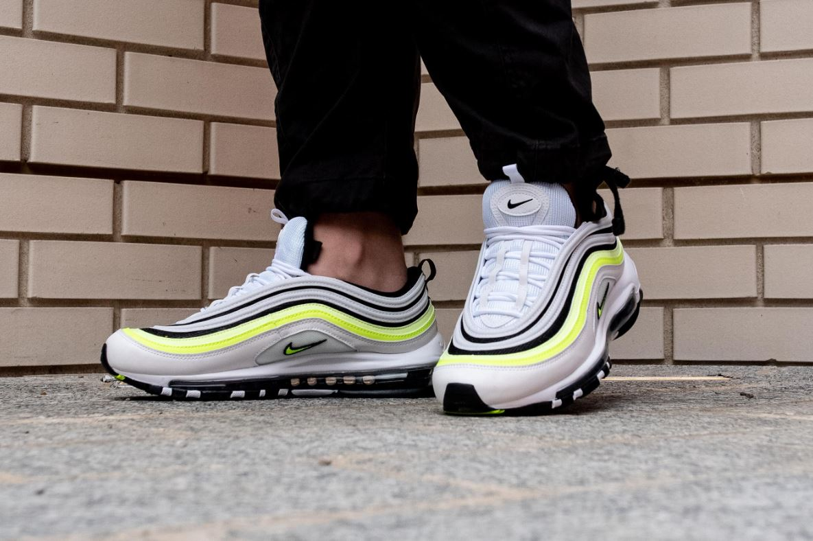 The Nike Air Max 97 SE 'White Volt' Is A Summer Staple | The