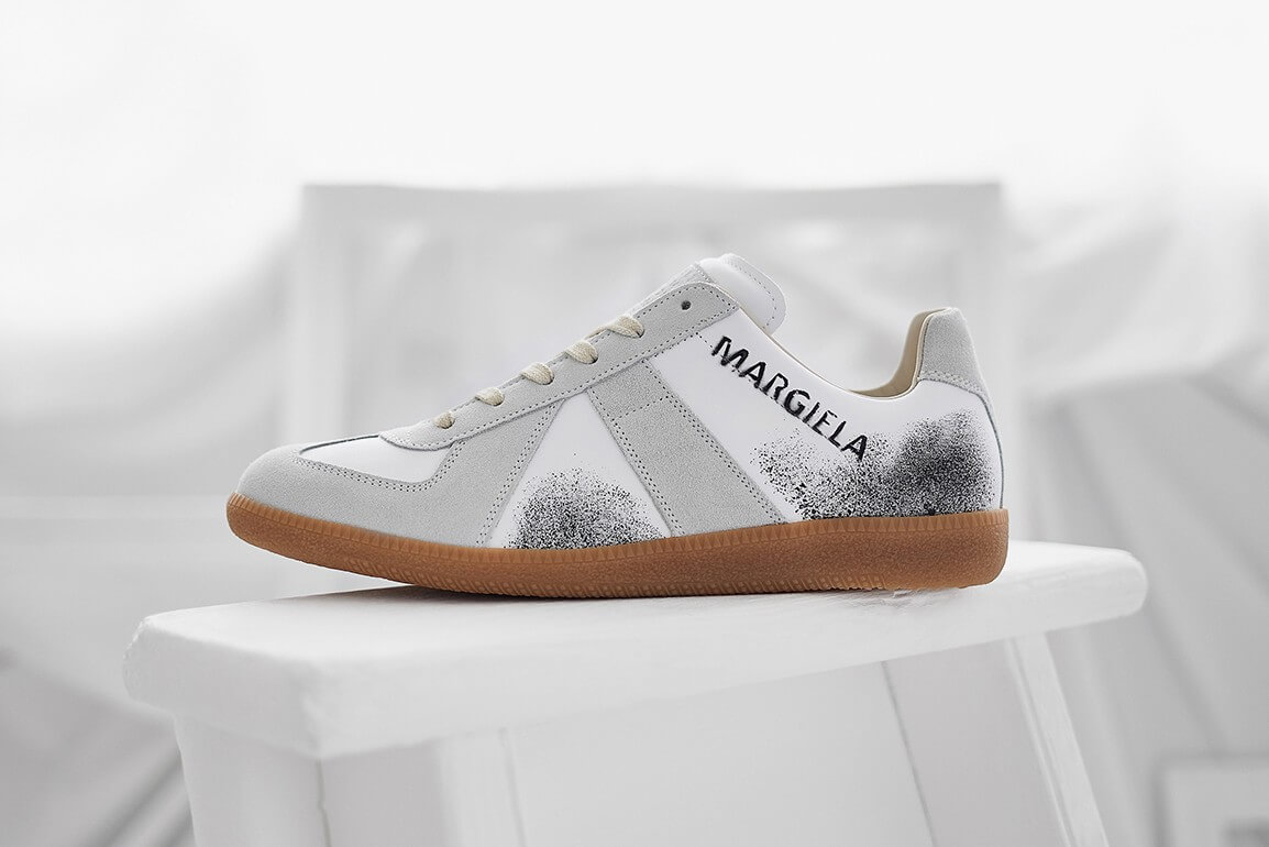 END. And Maison Margiela Adorn The 22 Replica Sneaker With