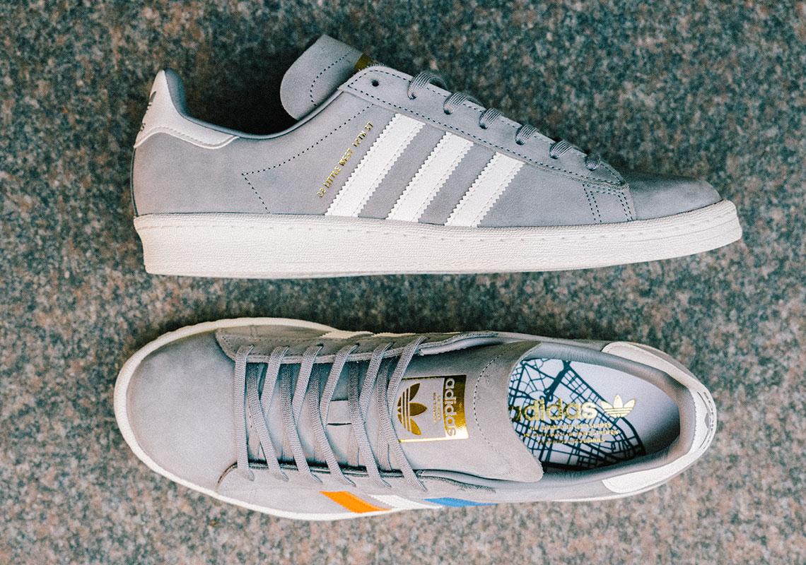 Sneakersnstuff x adidas Campus 80s 22 Little West | Sneakers