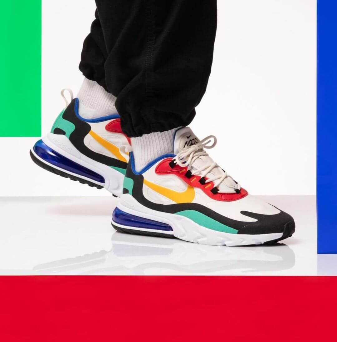 air max 270 react bauhaus outfit