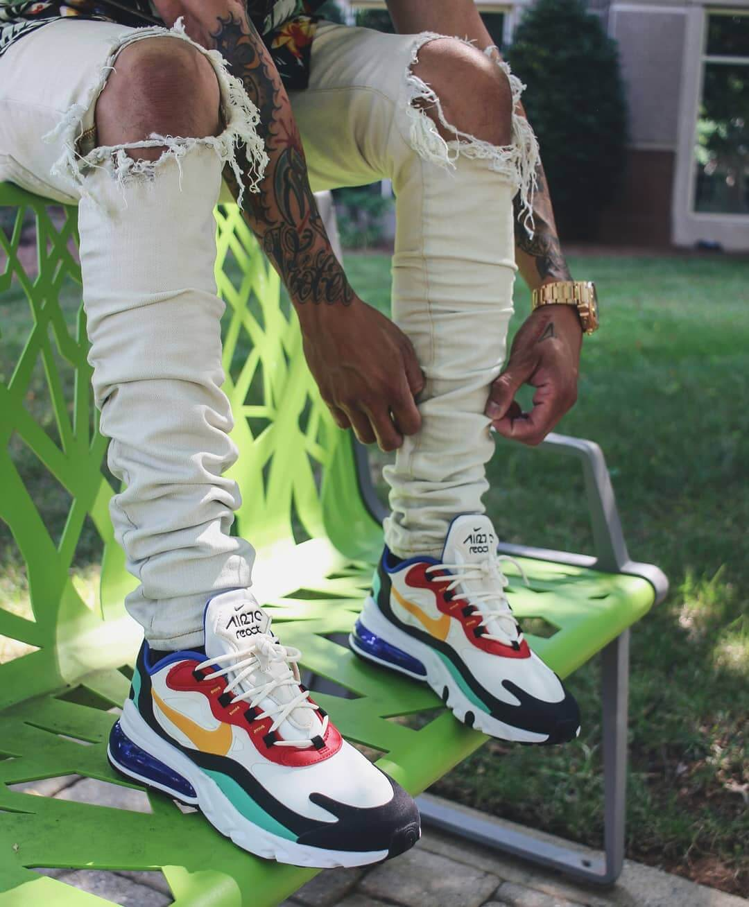 5 Ways To Style The Nike Air Max 270 React Multi The Sole Supplier