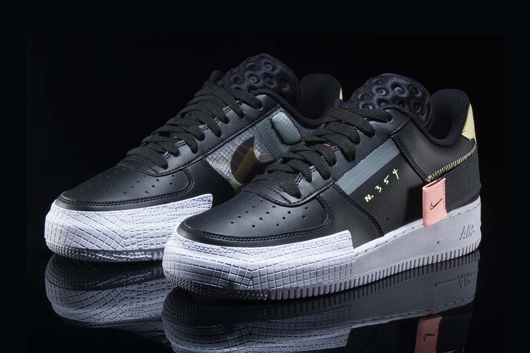 Nike Air Force 1 Low Type Black Raffles Eneleverandøren  The Sole Supplier