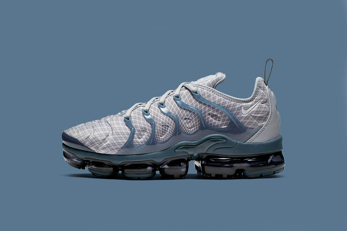 Take A Closer Look At The Nike Air VaporMax Plus Grid 'Wolf Grey'