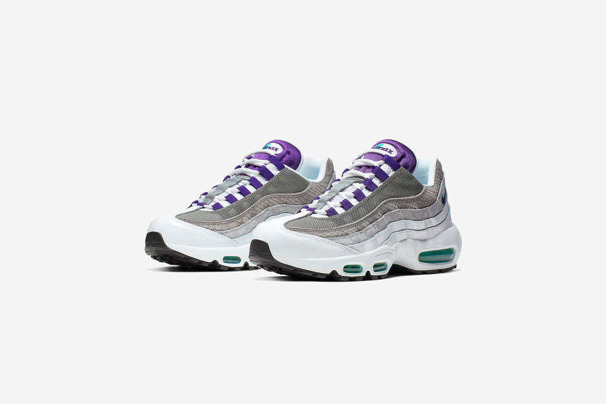 The Nike Air Max 95 'Grape' Gets An Extra Bite