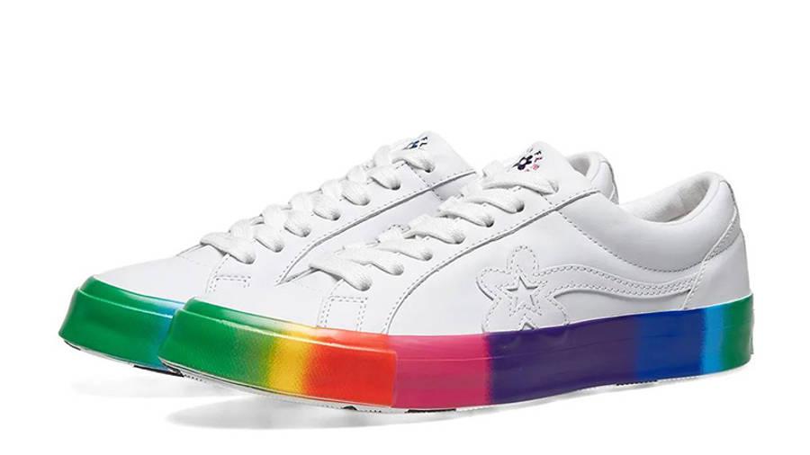 Golf Le Fleur x Converse OX Rainbow