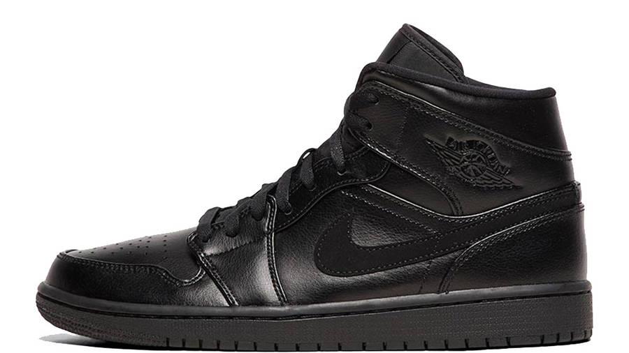 Jordan 1 Mid Black Leather | Where To