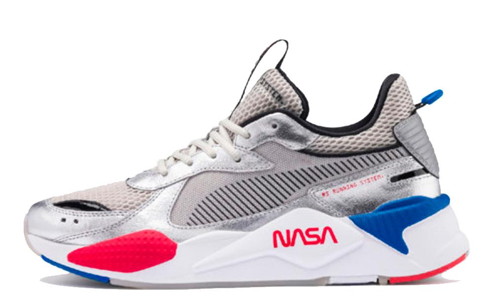 NASA x PUMA RS-X Space Explorer Silver 372511-01