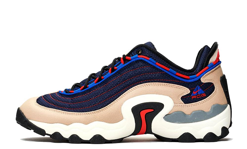 Nike ACG Air Skarn Sand Blue front