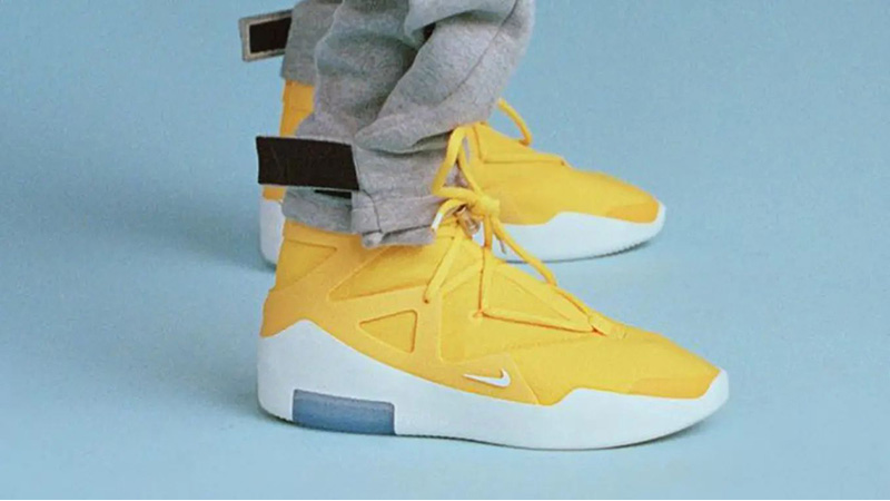 Perpetuo Guijarro Separación  Nike Air Fear of God 1 Yellow | Where To Buy | AR4237-700 | The Sole  Supplier