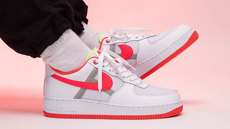 Nike Air Force 1 Low White Crimson
