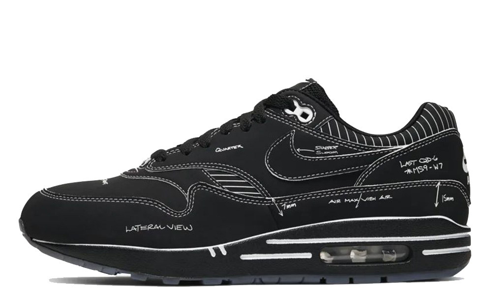 Nike Air Max 1 Tinker Schematic Black CJ4286-001