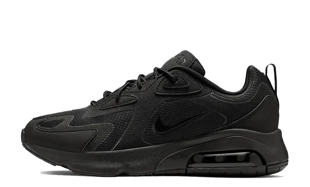 Nike Air Max 200 Black White AQ2568-003 front
