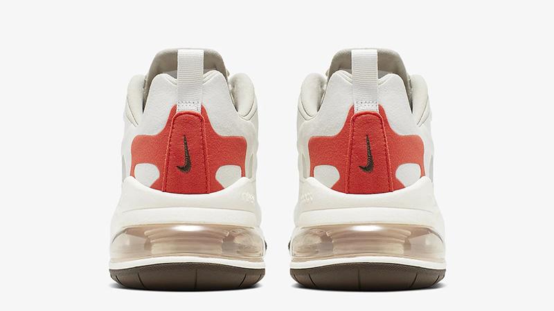 Nike Air Max 270 React Beige Orange Where To Buy Ao4971 200