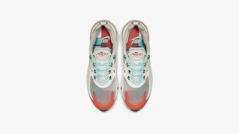 Nike Air Max 270 React Beige Orange AO4971-200 middle