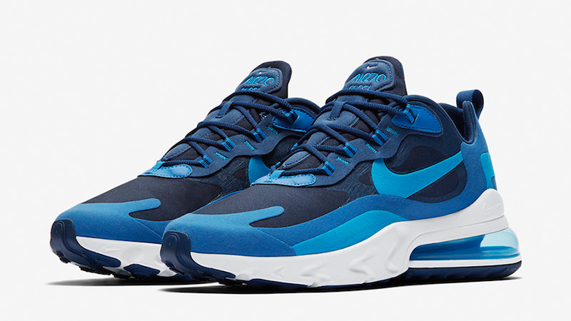 Women Nike Air Max 270 Black Blue mypapuc