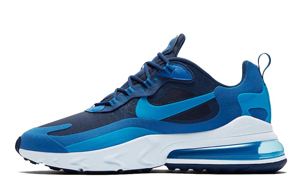 Nike Air Max 270 React Blue Void AO4971-400