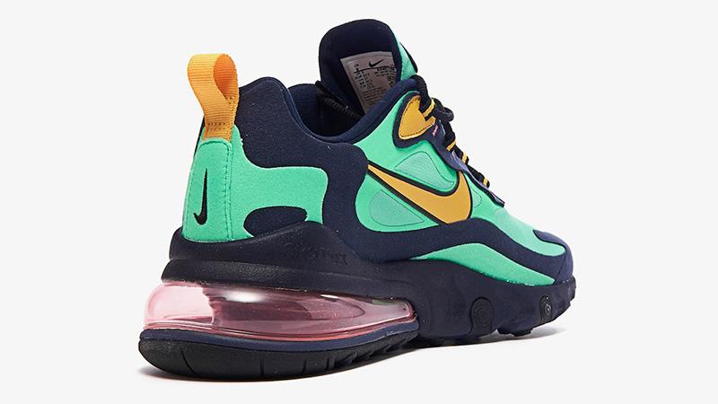 Nike Air Max 270 React Electro Green AO4971-300 back