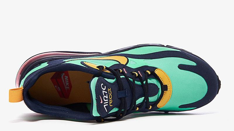Nike Air Max 270 React Electro Green AO4971-300 middle