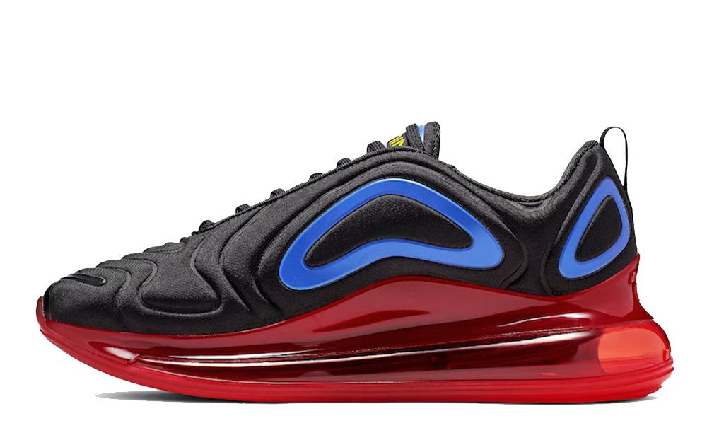 Nike Air Max 720 Black Red AO2924-014