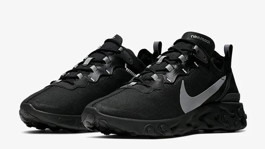 Nike React Element 55 SE Black | Where