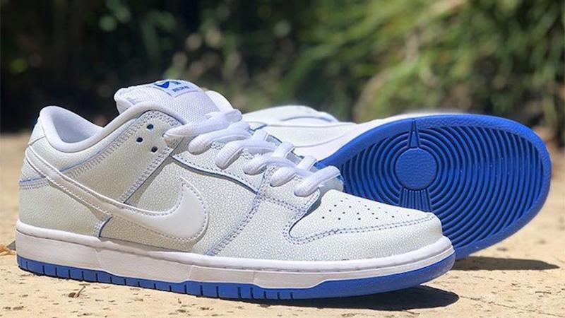 eje Discurso Vaca  Nike SB Dunk Low Premium White Blue - Where To Buy - CJ6884-100 ...