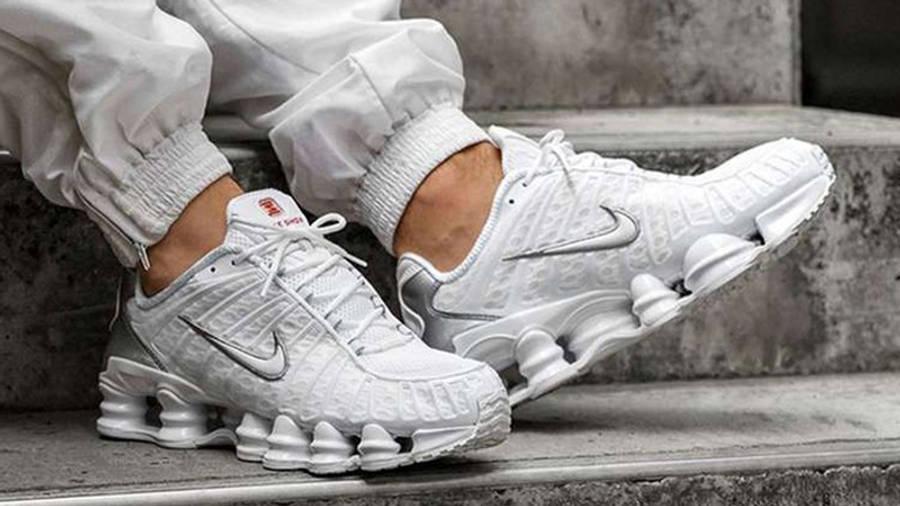 Nike Shox TL White | Where To Buy | AV3595-100 | The Sole Supplier