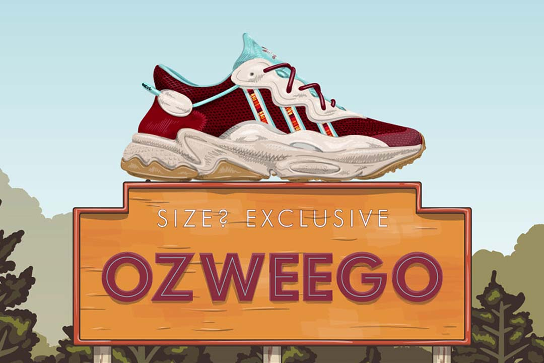 size? x adidas Explore The Great Outdoors For This Exclusive Ozweego