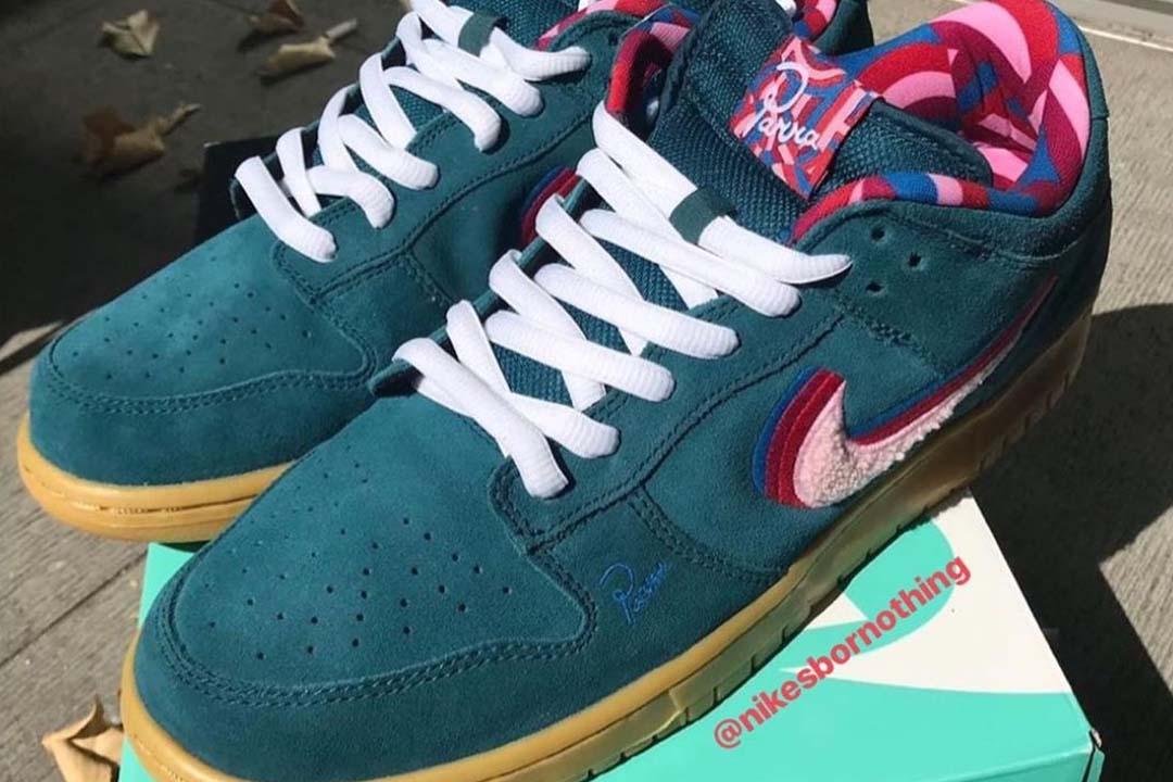 The Parra x Nike SB Dunk Low Surfaces In A 'Friends \u0026 Family