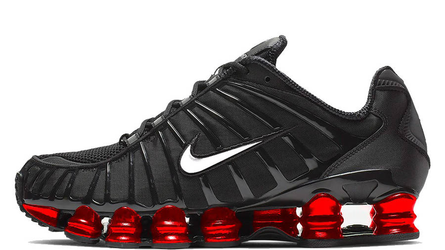 Triple Black Upper Latest NEW Nike Shox R4 GS ® UK Sizes:  4.5 // 5 // 5.5