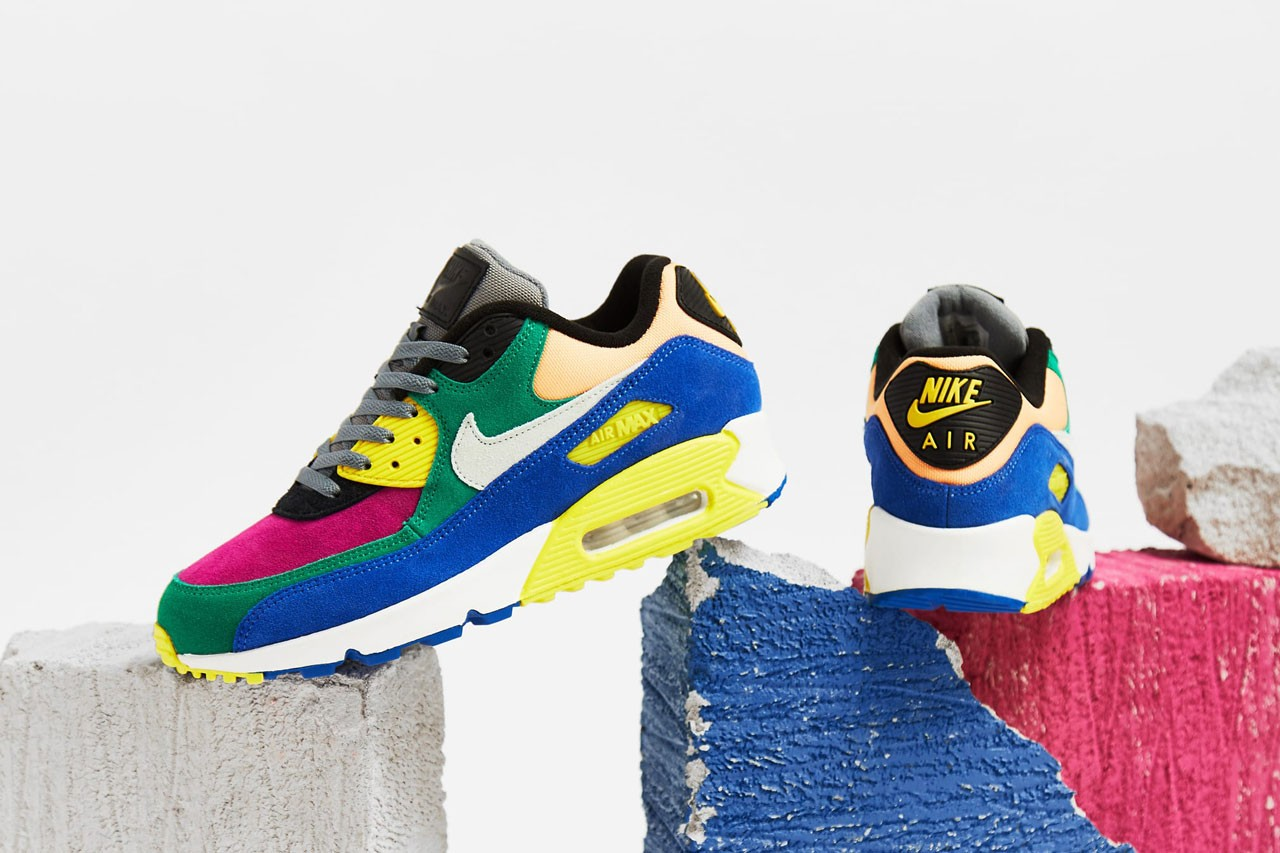 The Nike Air Max 90 Returns In A Reworked 'Viotech' Colourway