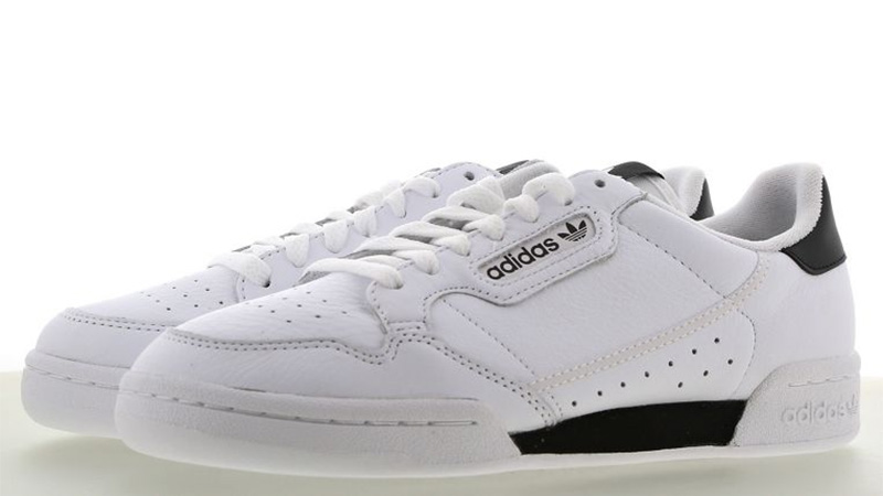 adidas Continental 80 White Black