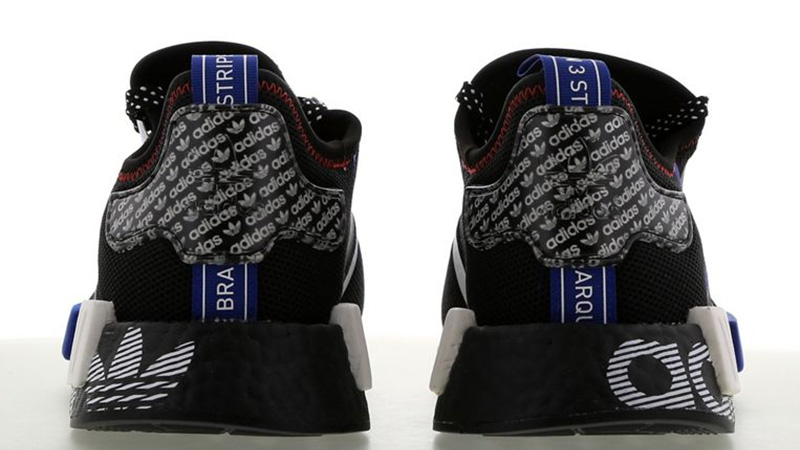 adidas NMD R1 DSTN Black White FV5215 back