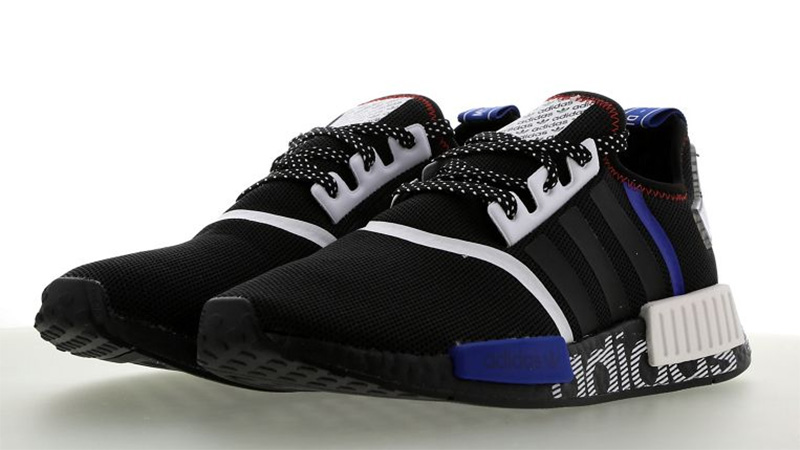 adidas NMD R1 DSTN Black White FV5215 front
