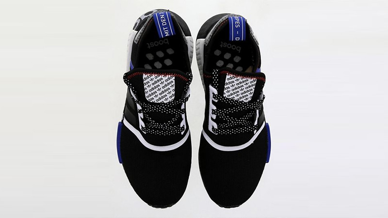 adidas NMD R1 DSTN Black White FV5215 middle