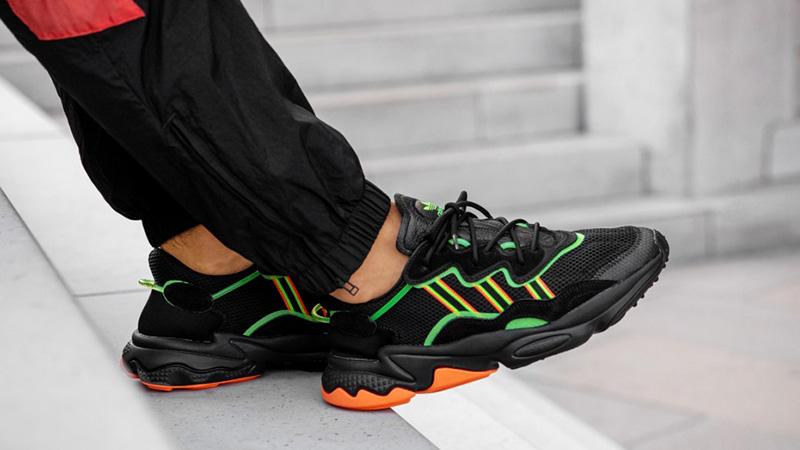 adidas Ozweego Black Orange